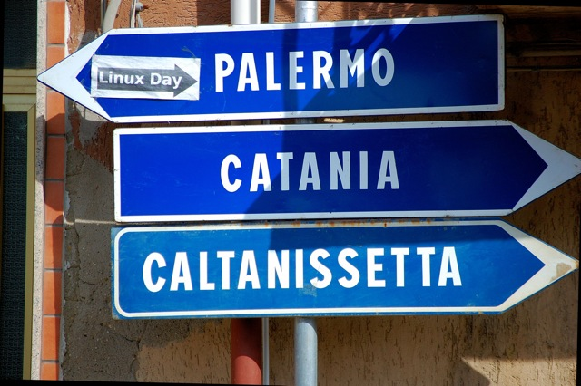 Photo of Road Sign in Sicily